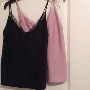 2 Victoria Secret sleep camisoles